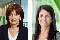 Mag. Astrid Taurer (Teamleiterin) und Sandra Fischer (Office)