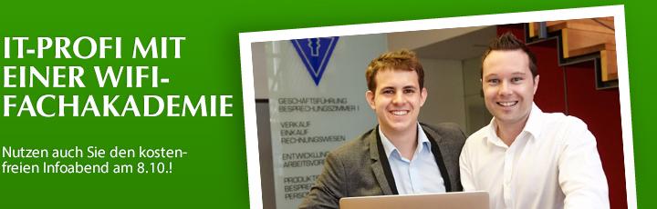 IT-Profi mit einer WIFI-Fachakademie